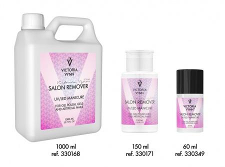 Salon Remover UV/LED Manicure 60, 150 et 1000 ml de Victoria Vynn