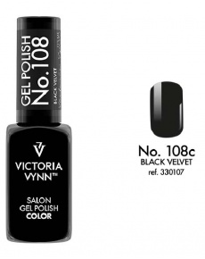 Gel Polish couleur black velvet n°108 de Victoria Vynn