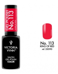 Gel Polish couleur king of red n°113 de Victoria Vynn