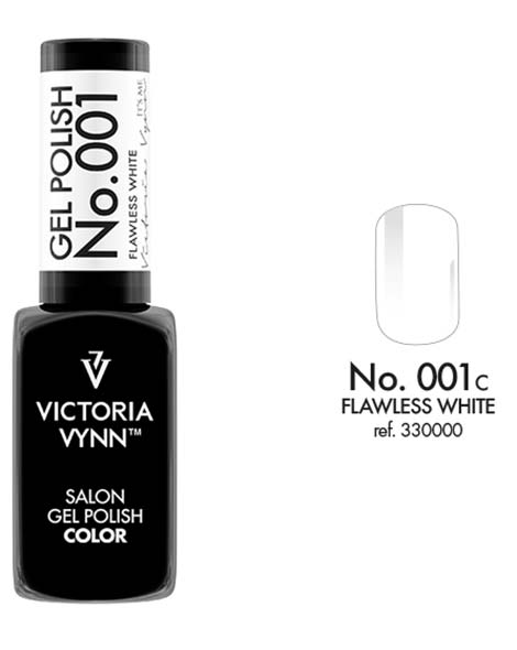 Gel Polish couleur flawless white n°1 de Victoria Vynn