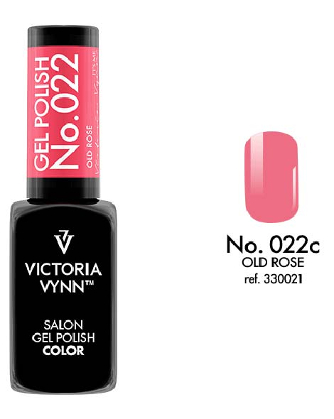 Gel Polish couleur old rose n°22 de Victoria Vynn