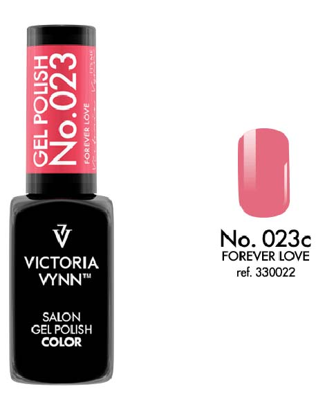 Gel Polish couleur forever love n°23 de Victoria Vynn
