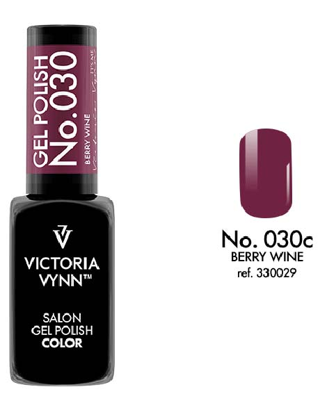 Gel Polish couleur berry wine n°30 de Victoria Vynn