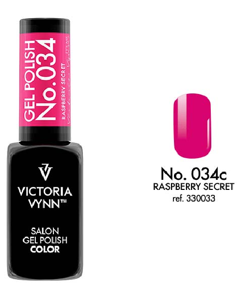 Gel Polish couleur raspberry secret n°34 de Victoria Vynn