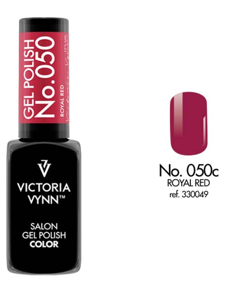 Gel Polish couleur royal red n°50 de Victoria Vynn