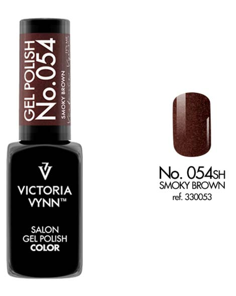 Gel Polish couleur smoky brown n°54 de Victoria Vynn