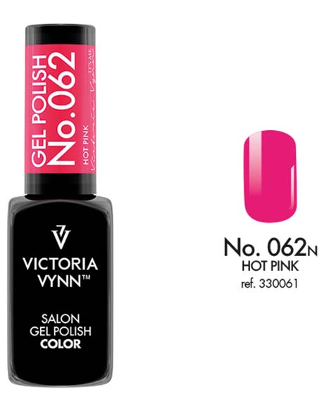 Gel Polish couleur hot pink n°62 de Victoria Vynn