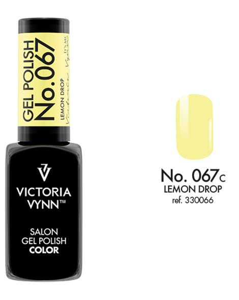 Gel Polish couleur lemon drop n°67 de Victoria Vynn