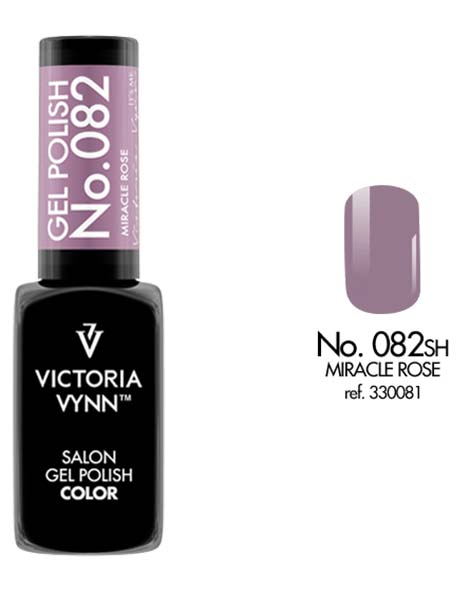 Gel Polish couleur miracle rose n°82 de Victoria Vynn