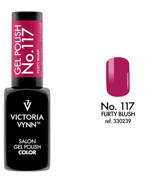 Gel Polish couleur flirty blush n°117 de Victoria Vynn