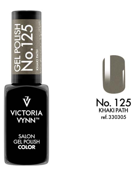 Gel Polish couleur khaki path n°125 de Victoria Vynn