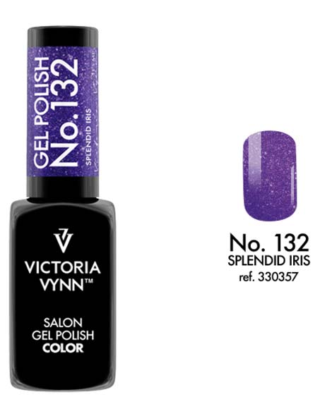 Gel Polish couleur splendid iris n°132 de Victoria Vynn