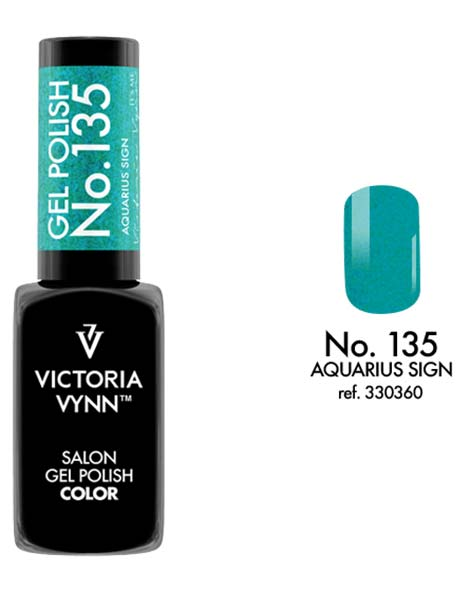Gel Polish couleur aquarius sign n°135 de Victoria Vynn