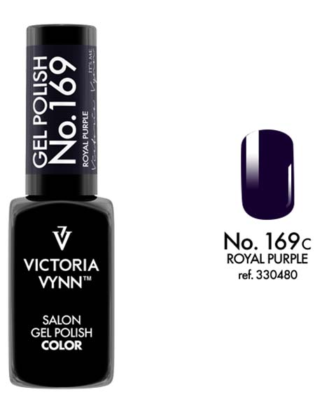Gel Polish couleur royal purple n°169 de Victoria Vynn