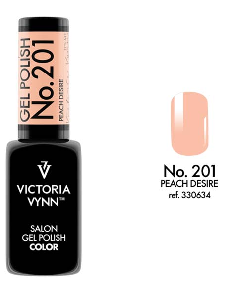Gel Polish couleur peach desire n°201 de Victoria Vynn