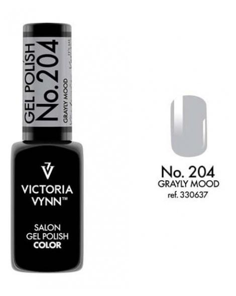 Gel Polish couleur grayly mood n°204 de Victoria Vynn