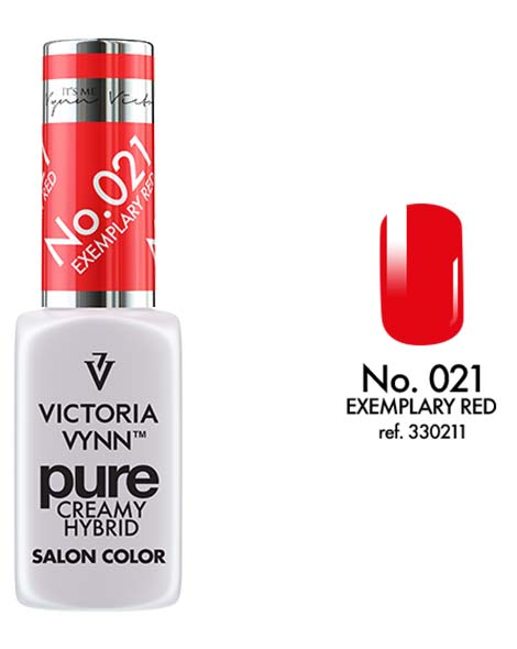 Pure Creamy Hybrid couleur exemplary red n°21 de Victoria Vynn