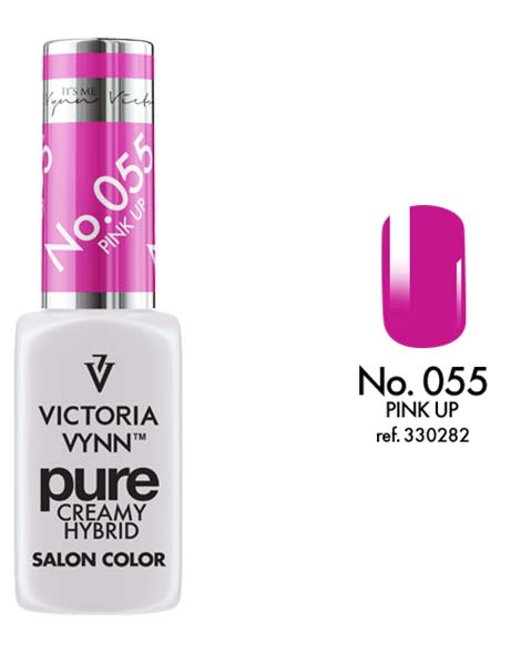 Pure Creamy Hybrid couleur pink up n°55 de Victoria Vynn