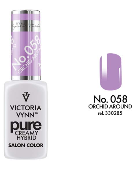 Pure Creamy Hybrid couleur orchid around n°58 de Victoria Vynn