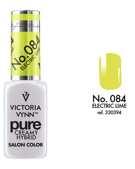 Pure Creamy Hybrid couleur electric lime n°84 de Victoria Vynn