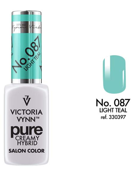 Pure Creamy Hybrid couleur light teal n°87 de Victoria Vynn