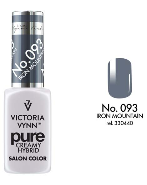 Pure Creamy Hybrid couleur iron mountain n°93 de Victoria Vynn